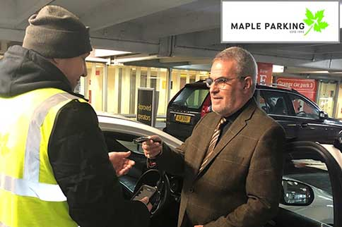 Edinburgh-Maple-Parking-Meet-and-Greet-Handover