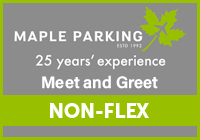 Maple Parking Edinburgh Meet & Greet - NON-FLEX