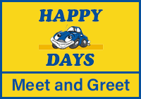 Happy Days Meet and Greet at Heathrow logo