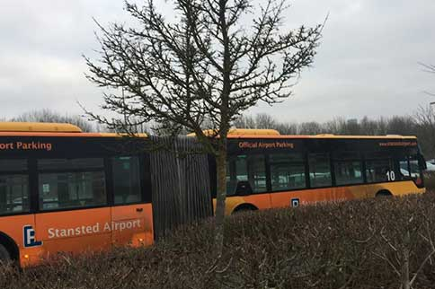 Stansted-Airport-Mid-Stay-Parking-Entrance-Bus
