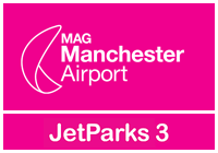Jet Parks 3 Manchester Airport logo