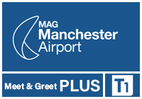 Manchester Airport Meet and Greet PLUS T1 logo