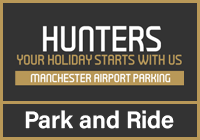 Hunters Park and Ride logo