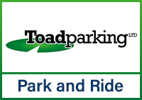 Toad parking manchester logo