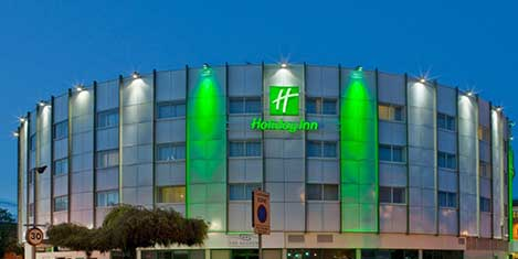 LHR Holiday inn Ariel Exterior