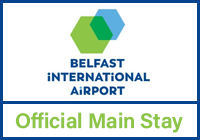 Belfast International Main Stay logo
