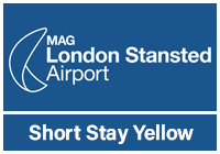 Stansted Official Short Stay Yellow Multi-Storey logo