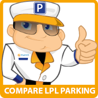 SkyParkSecure Liverpool airport parking logo