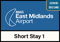 East Midlands Airport Short Stay 1 logo