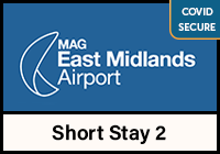 East Midlands Airport Short Stay 2 logo