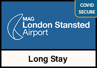 Official Stansted Airport Long Stay logo