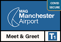 Manchester Airport Meet and Greet T1 logo
