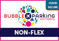 Stansted Bubble Park and Ride - NON-FLEX Logo